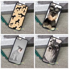 Шнауцер Case cover для iphone 4 4S 5 5S 5C SE 6 плюс 6 s плюс 7 7 плюс # ZX3021