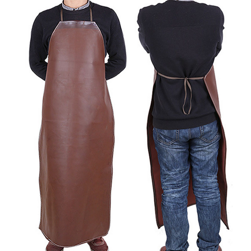 Useful Polyurethane Welding Apron Equipment Welder Insulation Protection Apron 100cm Tools
