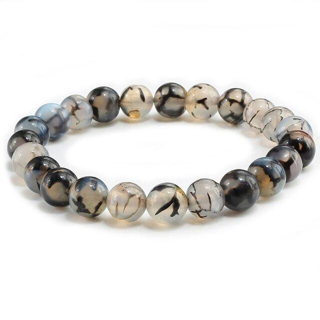 Natural Stone Black Dragon Bracelets3