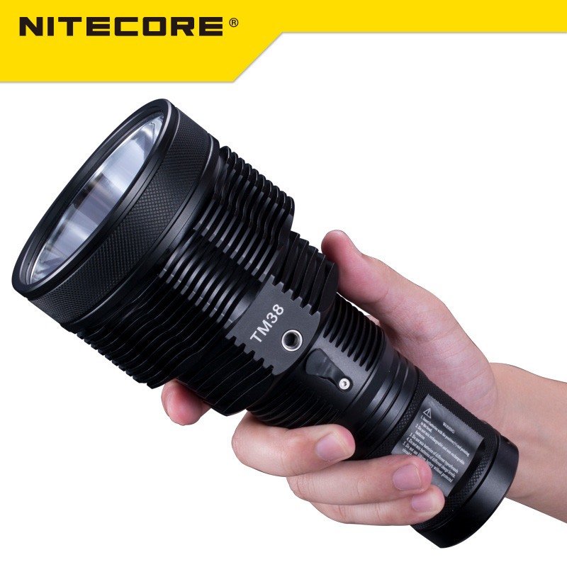 2017 NEW Nitecore TM38 Lite Tiny Monster 1800 Lumen Long Throw Rechargeable Flashlight 2017 new nitecore tm38 lite tiny monster cree xhp35 hi d4 1800 lumen long throw rechargeable led flashlight