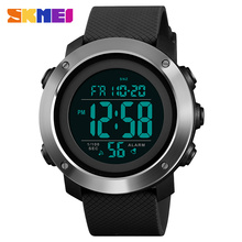 цены SKMEI Men Watch Digital Sports Outdoor Watches Stopwatch Double Countdown Alarm Clock Waterproof Watch Relogio Masculino 1434/35