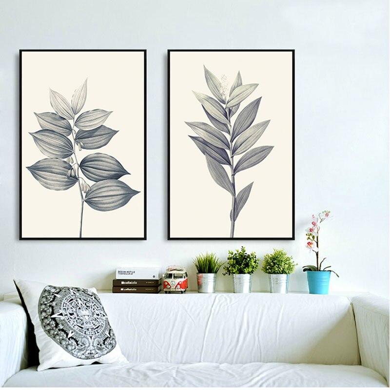 ᗚDIY full Diamond pintura decorativa moderna planta cuadros de ...