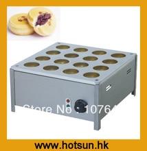 Hot Sale 16pcs 220v Electric Bean Waffle Machine