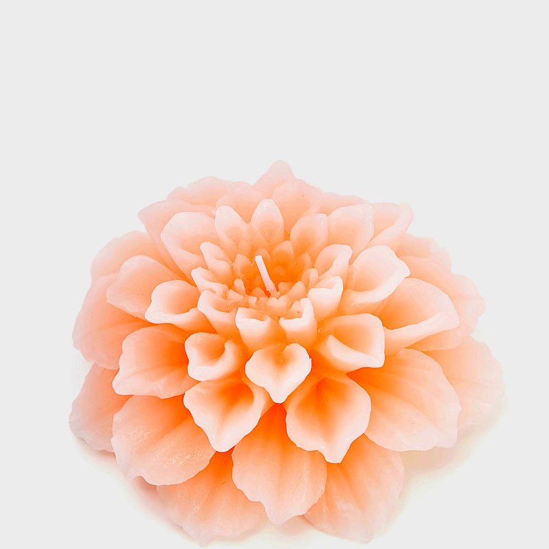 Moule en silicone bougie moules fleurs bougies chrysanthème résine argile silicone moule fleur mariage bougie bricolage arôme pierre moules