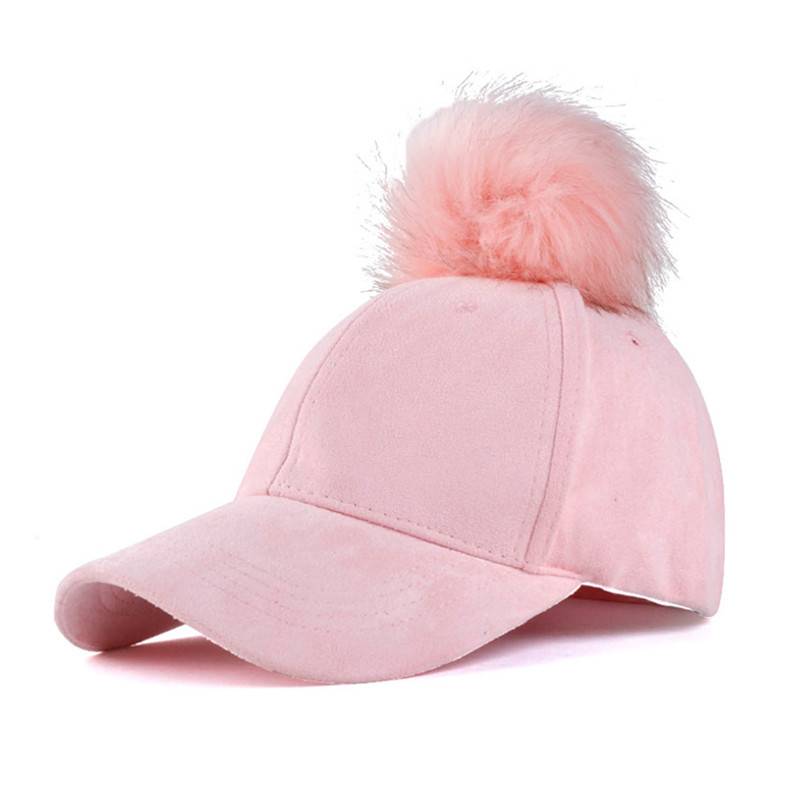 online store 282ee 761a3 ... real fox racing womens techtronic beanie womens snapback baseball caps  faux fox fur ball pompom trucker
