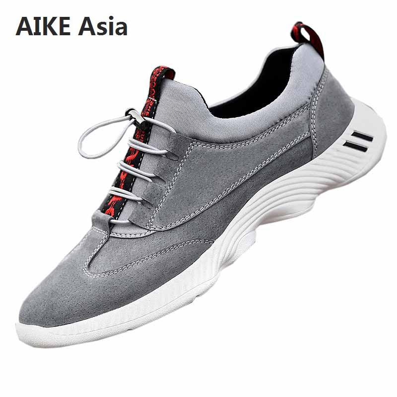 Shoes Men's Shoes Dependable Aike Asia 2018 New Mens Breathable Mesh Casual Shoes Lovers Brand Lightweight Flat Shoes Lace Style Comfortable Mens Shoes