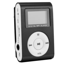 Fashion Mini MP3 Player Clip USB LCD Screen Support for 32GB Micro SD Can Used As Card Reader