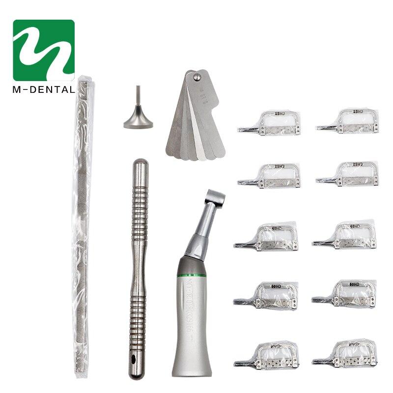 Conjunto de Ferramentas Dental Ortodontia 1 Alternativo Sistema de Correção de Stealth IPR Rediucation a Desgastes Interproximais Contra Ângulo