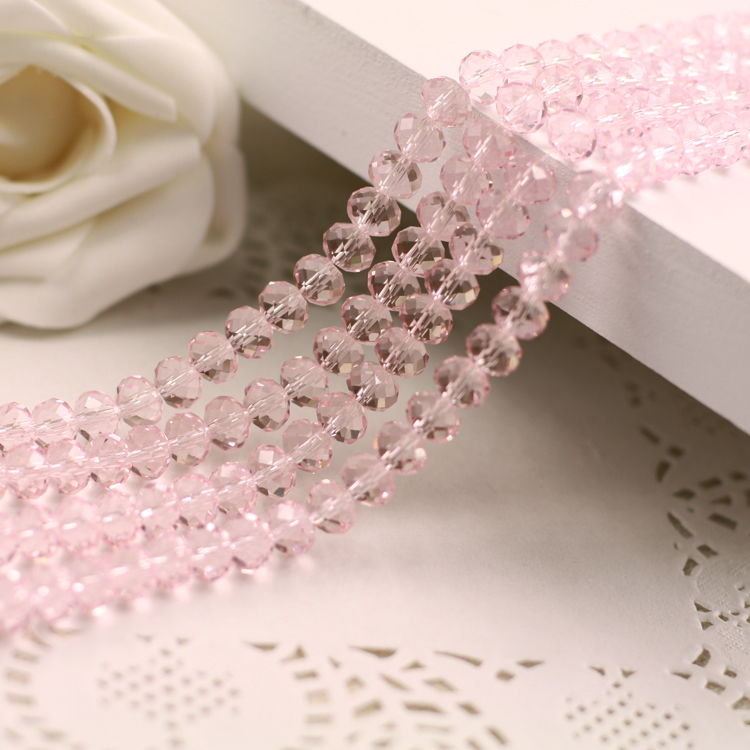 Pink  Color 2mm,3mm,4mm,6mm,8mm 10mm,12mm 5040# AAA Top Quality loose Crystal Rondelle Glass beads free shipping aaa 5301 white opal color 3mm 4mm 5mm 6mm 8mm crystal glass bicone beads