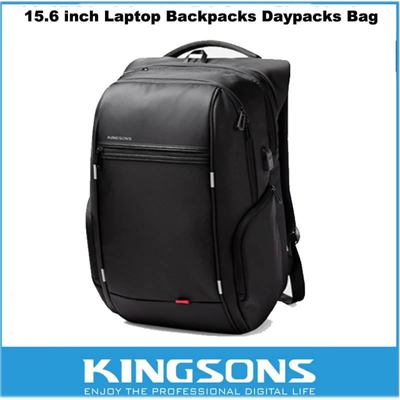 Kingsons Waterproof Antitheft Laptop Notebook Backpack Computer Bag Travel Backpack for 15.6