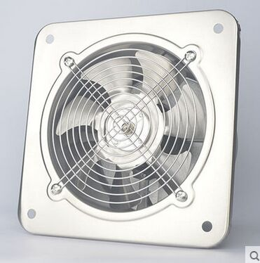 6 stainless steel fan high speed industrial ventilation for 4 kitchen exhaust fan
