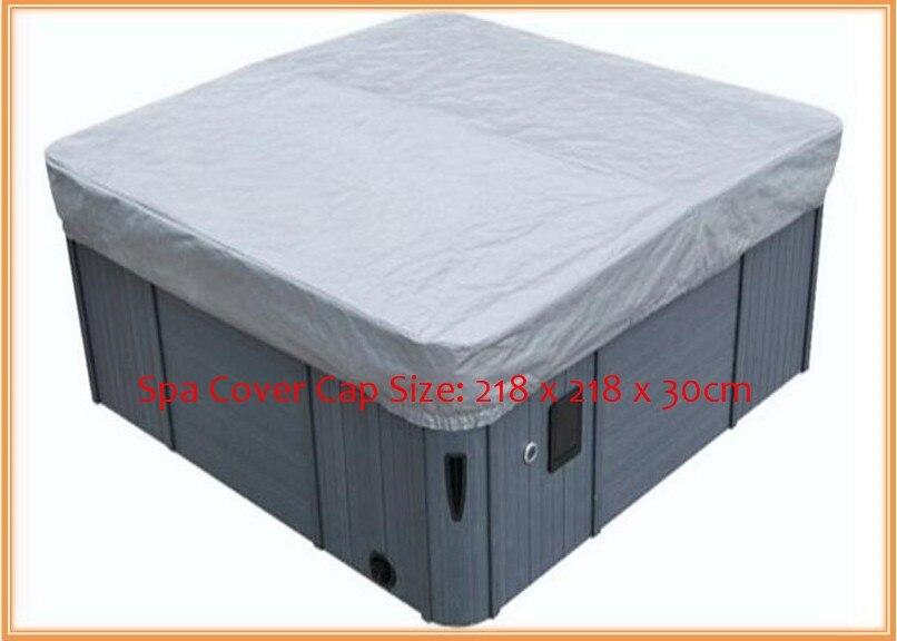 spa cover cap 218cmx218cmx30cm hot tub cover guard hot tub cover guard