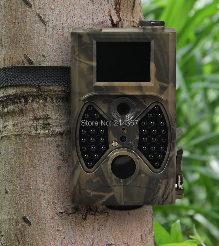 Suntek newest 0.8sTrigger time  Hunting Trail Cameras 65feet ir Range Trail Hunting Cam FREE SHIPPING hc300 suntek 0 8s trigger time hunting scouting cameras support 6 monthes power life