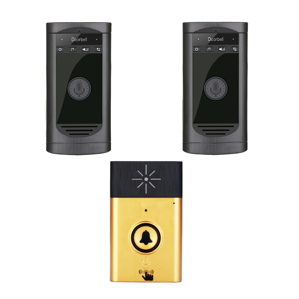 Wireless Intercom 1V2 Door Phone Long Distance 200M Doorbell Wireless Intercom 1V2 Door Phone Long Distance 200M Doorbell