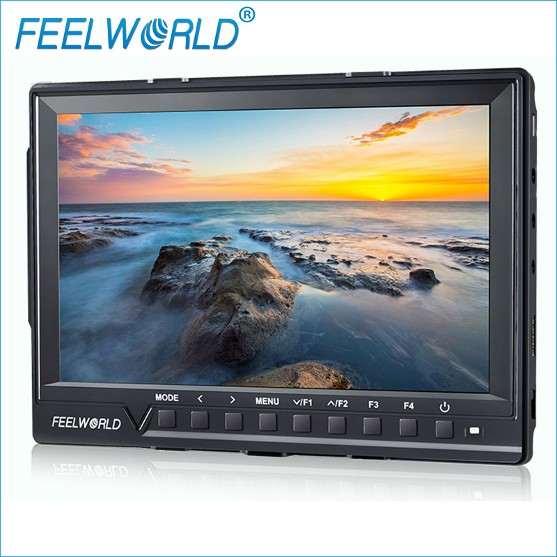Feelworld FW760 7 Inch IPS 4K HDMI Full HD 1920x1200 Camera Monitor for DSLR with Peaking