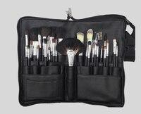 Pro Goat Hair 32pcs Makeup Brushes Set, High Quality Make Up Brush Kits Beauty Tool With Belt Bag