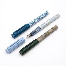 Yeni KACO X V & A Müzesi Ortak Serisi SKY dolma kalem Schmidt Dönüştürücü Ekstra Ince Ucu 0.38mm mürekkep kalem Hediye kutusu Ofis Koleksiyonu