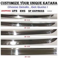 japanese samurai katana wakizashi tanto nodachi swords sword Customized link