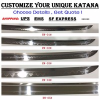 japanese samurai katana wakizashi tanto nodachi swords sword Customized link