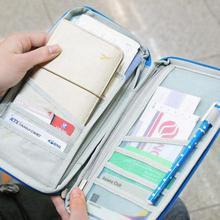 Обложка для паспорта для женщин и мужчин, дорожные кошельки, держатель для карт, Обложка для паспорта, многофункциональный сертификат, нейлоновая водонепроницаемая обложка для ручек