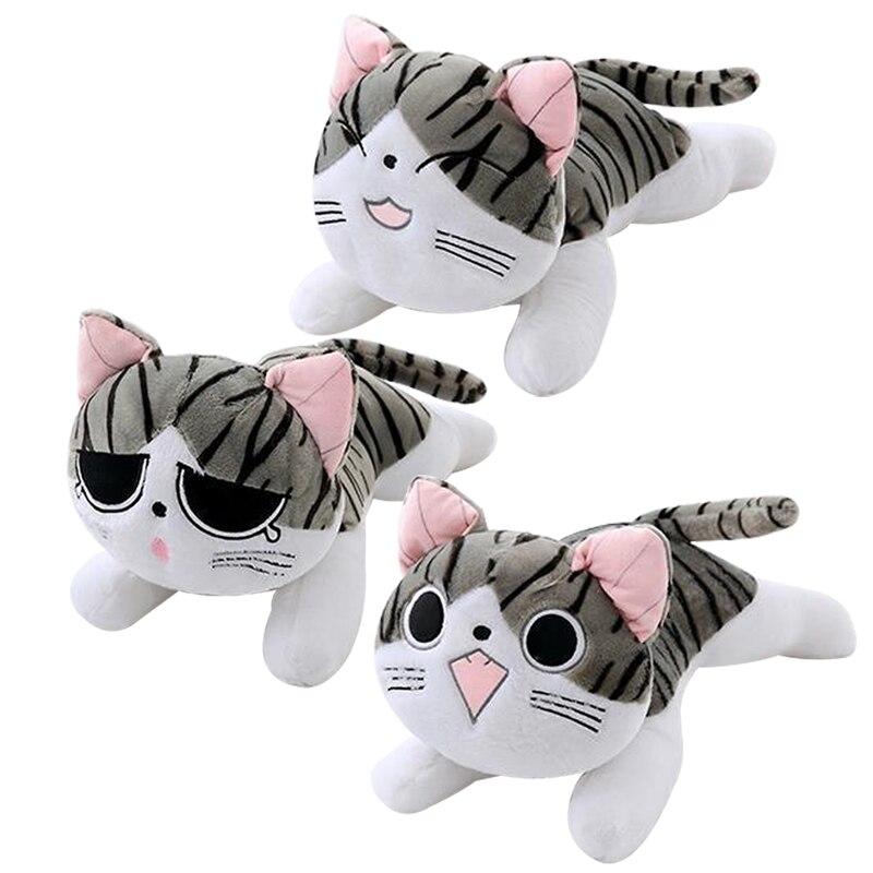 Stuffed-Toy Cheese-Cat Plush-Pendant Little-Doll Gift Wholesale Children Cartoon Lovely