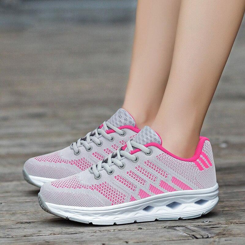 Minika Latest Slimming Shoes Women Summer Mesh Sports Shoes Female Fitness Swing Platform Wedge Walking Shoes Toning Sneakers