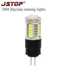 3008 Daytime running lights with lens led 4014SMD Canbus autolight car lamps bulbs 12VAC exterior Lights