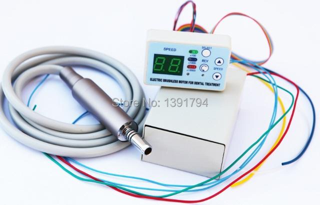 Unidade Dental embutido Brushless Micro motor Elétrico Cabo CABER NSK NLX NANO spray de água interno com fibra óptica