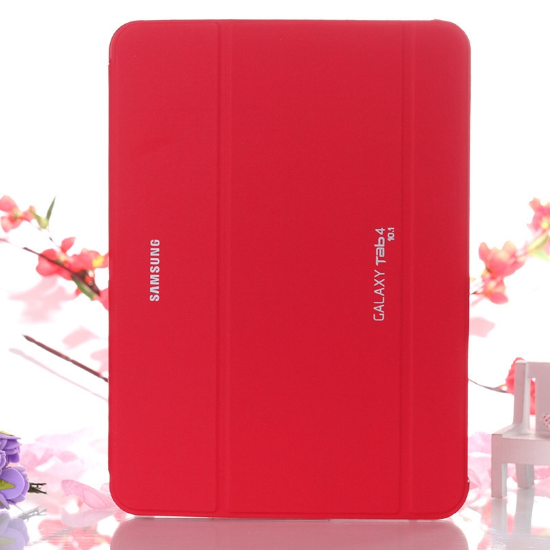 Ultra-thin Magnetic Stand Smart PU Leather Cover for Samsung Galaxy Tab 4 10.1 T530 T531 T535 Tablet Funda Case+Free Film+Pen pu leather tablet case cover for samsung galaxy tab 4 10 1 sm t531 t530 t531 t535 luxury stand case protective shell 10 1 inch