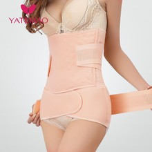 YATEMAO Belly Belt a Bandage for Pregnant Women Postpartum Recovery Belt Body Shapers Abdomen Upgrade Corset Belt Body Figure cheap Maternity Nylon Polyester Blends Belly Bands Support 375-20 Natural Color Woven