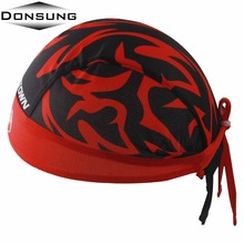 DONSUNG Sport Cycling Caps Men Baseball Bike Bicycles Male Jersey Team Moto Balaclava Headwear Helmet Headband Hats Bandana