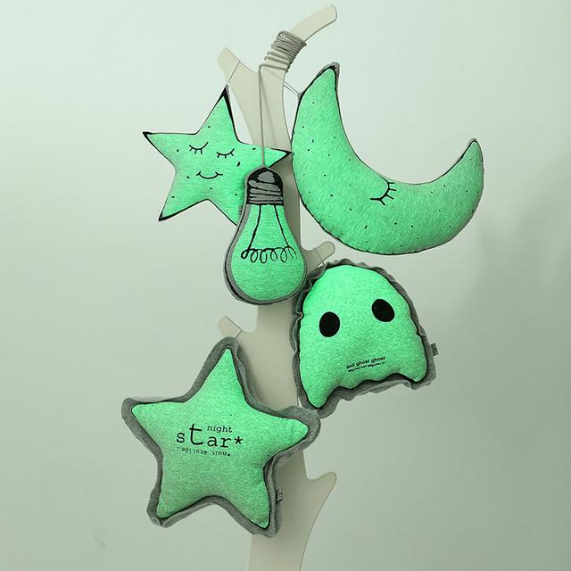 Luminosos Juguetes De Peluche Almohada Luz Led Forma de Estrella Luna Navidad niños Regalo de Cumpleaños Juguetes para Niños de Peluche y Felpa Animales