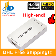 Free Driver 1080P 60fps HDMI Capture Card USB3.0 Capture HDMI HD Game Video Audio Capture Dongle