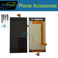 Black Color High Quality For Highscreen Boost 3 LCD Display And Touch Screen Digitizer Assemble Replacement