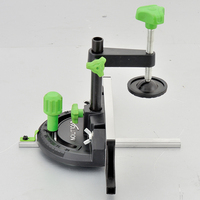 Miter Gauge For Table Saw With Adjustable Flip Stop Angle Foot Woodworking DIY Angle Plate