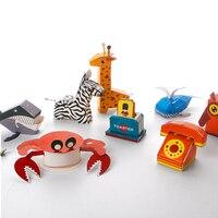 3D trẻ em Đồ Chơi Câu Đố Phụ Kiện Nhà Bếp Phòng Khách Animal Giấy Kit Xây Dựng Mô Hình Đồ Chơi Quà Tặng Cho Trẻ Em Giáo Dục Đồ Chơi