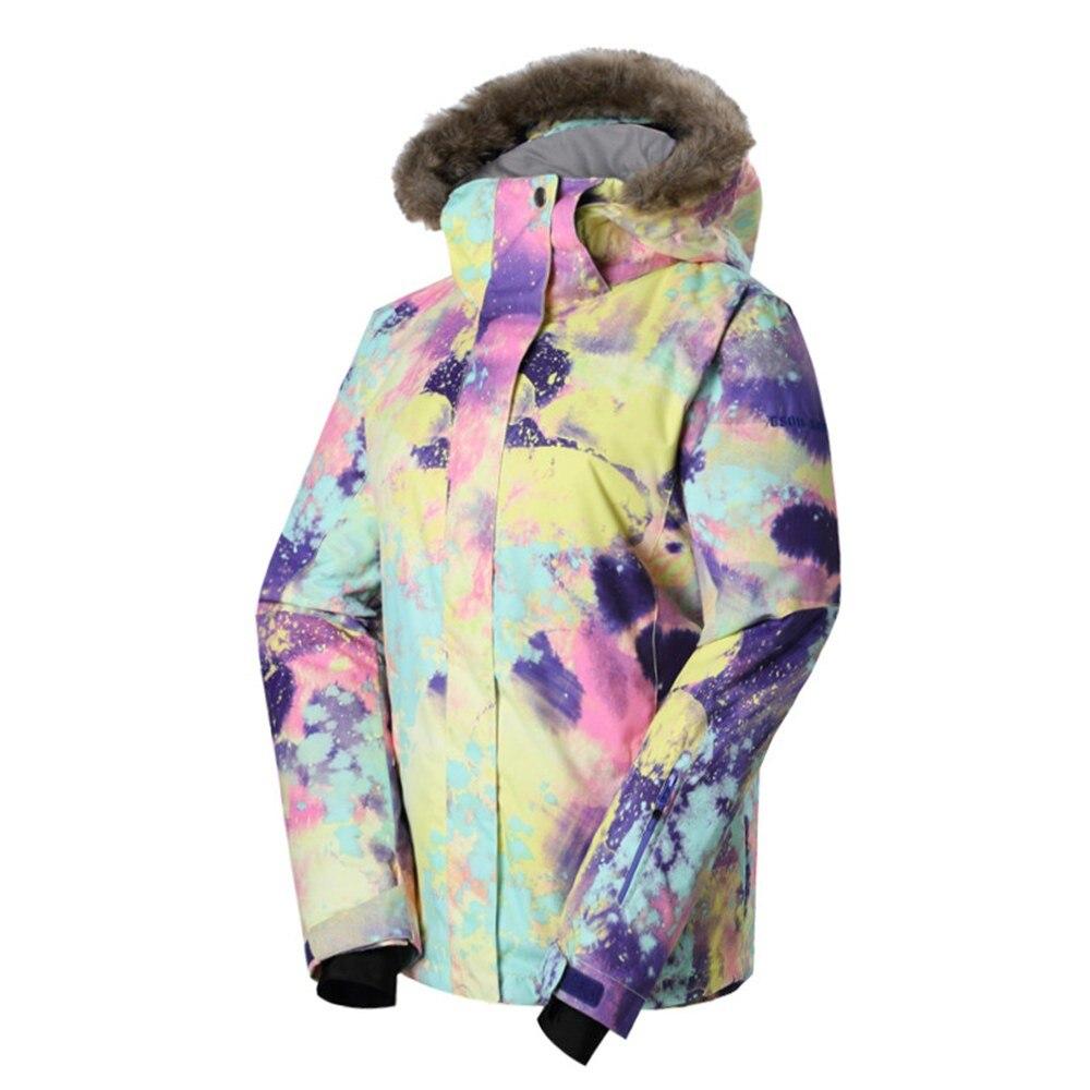 36861e9a2d 2019 GSOU SNOW Brand Women Ski Jacket Women Snowboard Jacket ...