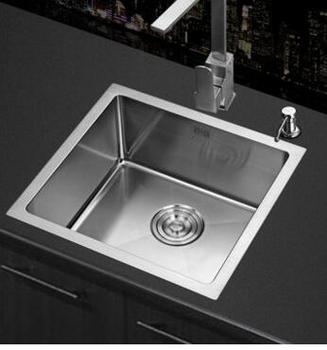 Sink.304ステンレス水槽。 小さなシングルスロットを備えたヨーロッパのバー。 食器棚の水盤キッチンシンクシンク