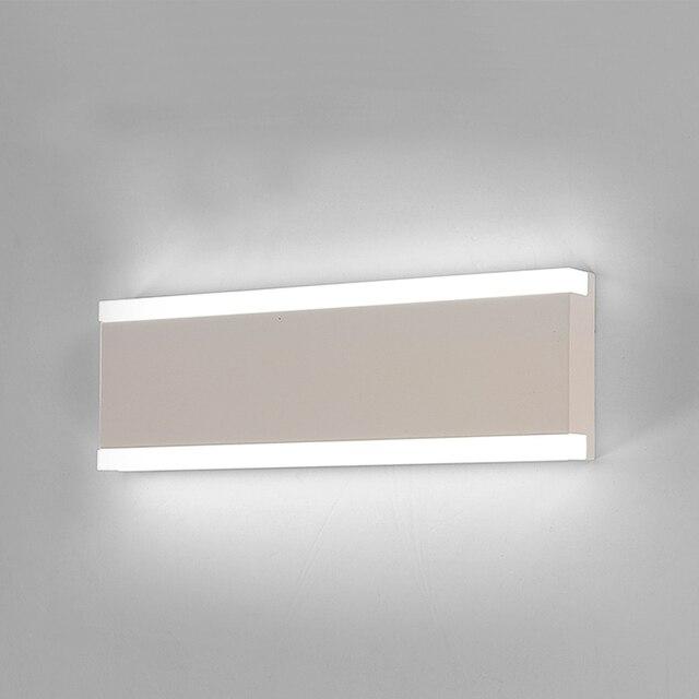 moderna sala de estar dormitorio restaurante lmpara de pared led espejo con luz de bao lmpara - Lampara Pared