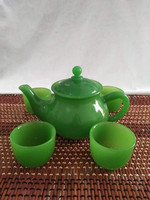 Exquisite high end teapot, tea cup, green set for home office