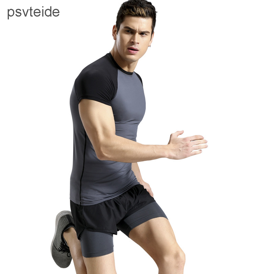 mens two-piece sets sportswear Fitness Training Jogging Sets Compression Suits Tracksuits suit sports sets running clothing man