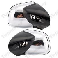 Мотоцикл Велосипед Запчасти заднего боковые зеркала слева и справа Chrome Для BMW K1200 LT 1999 2000 2004 2005 2006 2007 2008 определено
