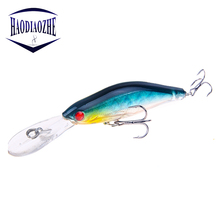 Купить с кэшбэком Minnow Fishing Lure Laser Sinking Wobblers 9.5cm 6.5g Swimbaits Wobblers Crankbait 6# Hook Iscas Artificial Fishing Tackle Pesca