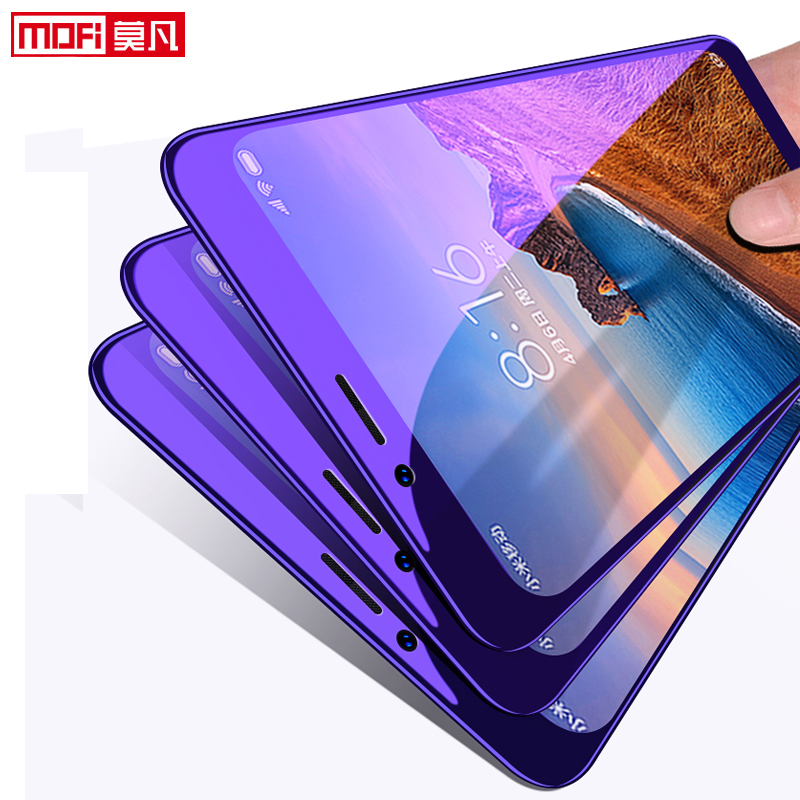 Xiaomi Redmi 7A Screen Protector Full Cover Mofi redmi 7a Tempered Glass Ultra Clear Front Protective 9H 2.5D 7A Screen Glass-in Phone Screen Protectors from Cellphones & Telecommunications