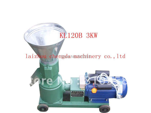 US $550 0 |family use feed pellet mill 2 2kw 220v 50hz single phase KL120B  make pig food duck ,donkey,horse feed-in Wood Pellet Mills from Tools on