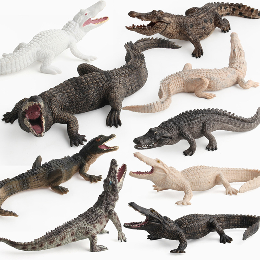 Simulation Animals Toys Crocodile Model Action Figures Children Kids Toy Gift Educational Toys Figures Figurine Home Decor Dolls