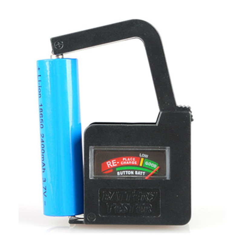9 Volt Battery Tester : Portable handheld battery volt tester for aa aaa c d