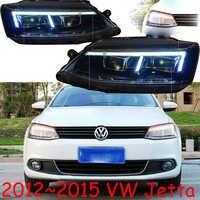 HID,2012~2015,Car Styling for Jetta Headlight,Touareg,sharan,Golf7,routan,saveiro,polo,passat,magotan,Jetta head lamp