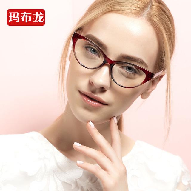Envío prescrption llenado miopes gafas de óptica marco miope para mujer gafas de marca marcos miopía gafas 5837