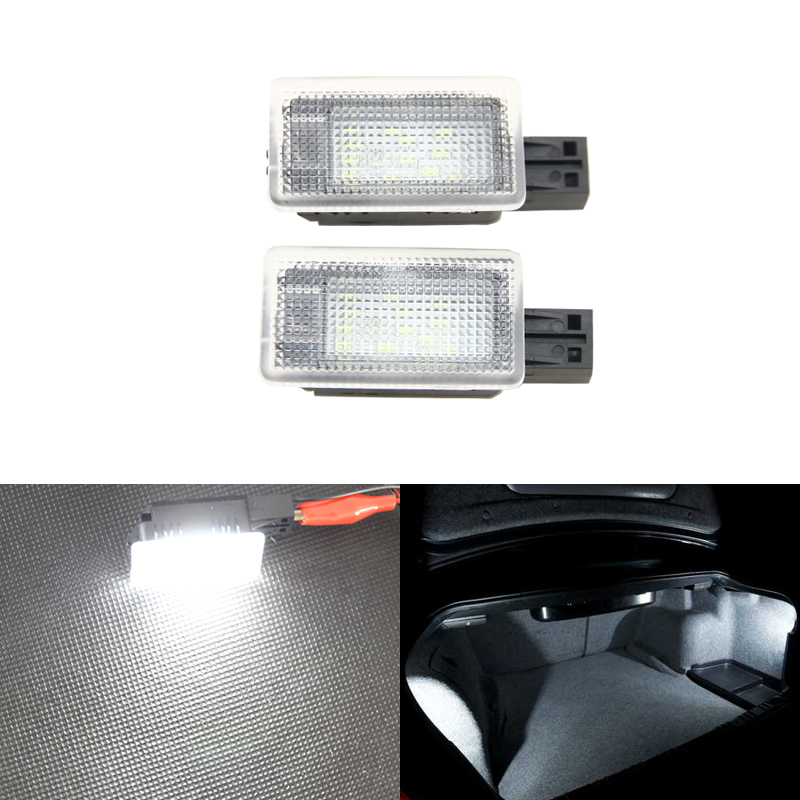 Canbus Error Free Led Trunk Luggage Compartment Boot Lights For Volvo C70 V50 S60 S60L V40 S80 S80L V60 XC60 XC90 Car-Styling